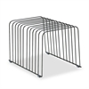 Wire Desktop Organizer, 11 Comp, Steel, 9 x 11 3/8 x 8, Black