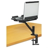 "Fellowes Designer Suites Laptop Arm, 9 1/4"" x 13"" x 28"", Black"