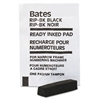 Bates Ready-Inked Pad for Multiple/Lever Movement Numbering Machine, Black