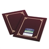 Geographics Certificate/Document Cover, 12 1/2 x 9 3/4, Burgundy, 6/Pack