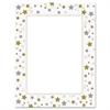 Design Suite Paper, 24 lbs., Stars & Swirls, 8 1/2 x 11, White, 40/Pack