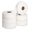 "Jumbo Roll Bath Tissue, 12"" diameter, 2000ft, 6 Rolls/Carton"