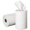 Nonperforated Paper Towel Rolls, 7 7/8 x 350ft, White, 12 Rolls/Carton