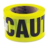 "Great Neck Caution Safety Tape, Non-Adhesive, 3"" x 1000 ft"