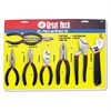 Great Neck 8-Piece Steel Pliers and Wrench Tool Set