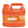 GOJO NATURAL ORANGE Smooth Hand Cleaner, 1gal, Pump Dispenser, Citrus Scent, 4/Carton
