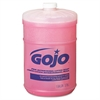 GOJO Thick Pink Antimicrobial Lotion Soap, Floral, 1gal Bottle, 4/Carton