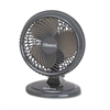 "Holmes Lil' Blizzard 7"" Two-Speed Oscillating Personal Table Fan, Plastic, Black"
