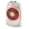 Holmes ViziHeat 1500W Power Heater & Fan, Plastic Case, 9 1/4 x 6 3/8 x 13 3/4, White