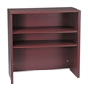 10500 Series Bookcase Hutch, 36w x 14-5/8d x 37-1/8h, Mahogany
