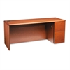 HON 10700 Series Right Pedestal Credenza, 72w x 24d x 29 1/2h, Henna Cherry