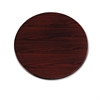 "10700 Series Round Table Top, 42"" Diameter, Mahogany"