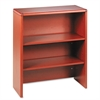 HON 10700 Series Bookcase Hutch, 32 5/8w x 14 5/8d x 37 1/8h, Henna Cherry