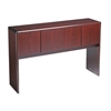 HON 10700 Series Stack On Storage, 56 5/8w x 14 5/8d x 37 1/8h, Mahogany