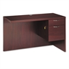 Valido 11500 Series Right Return, 48w x 24d x 29 1/2h, Mahogany