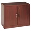 11500 Series Valido Storage Cabinet w/Doors, 36w x 20d x 29-1/2h, Mahogany