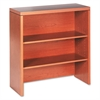 Valido 11500 Series Bookcase Hutch, 36w x 14-5/8d x 37-1/2h, Bourbon Cherry