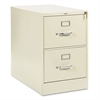 HON 210 Series Two-Drawer, Full-Suspension File, Legal, 28-1/2d, Putty