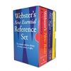 Webster's New Essential Reference Three-Book Desk Set, Paperback