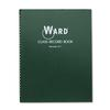 Ward Class Record Book, 38 Students, 6-7 Week Grading, 11 x 8-1/2, Green