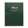 Class Record Book, 38 Students, 9-10 Week Grading, 11 x 8-1/2, Green
