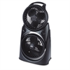 Twin Turbo 2-in-1 High-Performance Fan, Black