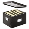 Snap-N-Store Snap N Store Storage Box, Letter/Legal, 16 1/4 x 9 3/4 x 13 1/4, Black