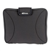 "Innovera Neoprene Laptop Sleeve, Fits to 15.6"", Zippered w/Handles, Black"