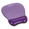 Innovera Gel Mouse Pad w/Wrist Rest, Nonskid Base, 8-1/4 x 9-5/8, Purple