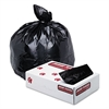 Low-Density Commercial Can Liners, 40-45gal, 1.70 mil, 40X46, Black, 100/Carton