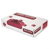 "Health Care ""Biohazard"" Printed Liners, 1.3mil, 40 x 46, Red, 100/Carton"