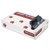 Low-Density Can Liners, 8-10 Gallon, .35mil, Black, 500/Carton
