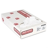 Industrial Strength Commercial Can Liners, 40-45gal, .9mil, White, 100/Carton