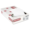 Industrial Strength Commercial Can Liners, 56gal, .9mil, White, 100/Carton