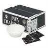Coffee Portion Packs, 1.5oz Packs, Hazelnut Crème, 24/Carton