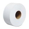 "JRT Jumbo Roll Bathroom Tissue, 2-Ply, 9"" dia, 1000ft, 12 Rolls/Carton"