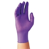 PURPLE NITRILE Exam Gloves, Large, Purple, 100/Box