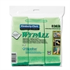 WypAll* Cloths w/Microban, Microfiber 15 3/4 x 15 3/4, Green, 6/Pack