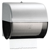 KIMBERLY-CLARK PROFESSIONAL* Omni Roll Towel Dispenser, 10 1/2 x 10 x 10, Smoke/Gray