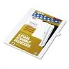 """Kleer-Fax 80000 Series Legal Exhibit Index Dividers, Side Tab, """"J"""", White, 25/Pack"""