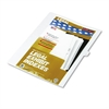 "Kleer-Fax 80000 Series Legal Exhibit Index Dividers, Side Tab, ""L"", White, 25/Pack"