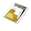 "80000 Series Legal Index Dividers, Side Tab, Printed ""12"", 25/Pack"