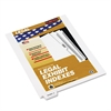 "80000 Series Legal Index Dividers, Bottom Tab, Printed ""Exhibit A"", 25/Pack"