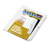 "80000 Series Side Tab Legal Index Divider Set, Printed ""26""-""50"""