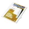"""80000 Series Legal Index Dividers, Side Tab, Printed """"18"""", 25/Pack"""