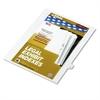 """Kleer-Fax 80000 Series Legal Index Dividers, Side Tab, Printed """"19"""", 25/Pack"""
