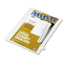 "Kleer-Fax 80000 Series Legal Index Dividers, Side Tab, Printed ""23"", 25/Pack"