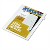 "Kleer-Fax 80000 Series Legal Index Dividers, Side Tab, Printed ""29"", 25/Pack"