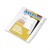 """Kleer-Fax 80000 Series Legal Index Dividers, Side Tab, Printed """"30"""", 25/Pack"""