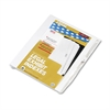 "Kleer-Fax 80000 Series Legal Index Dividers, Side Tab, Printed ""35"", 25/Pack"